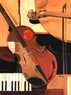 Abstract Violin - Mini