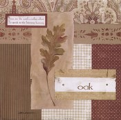 Scrapbook Oak Leaf