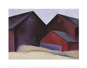Ends of Barns, 1922