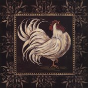 Black & White Rooster I