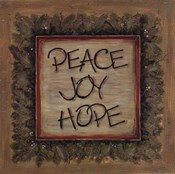 Peace Joy Hope