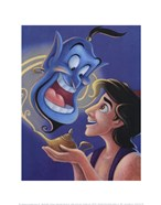 Aladdin and the Genie - The Magic Lamp