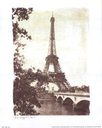 Eiffel Tower 8 x10