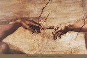 The Creation of Adam (detail)