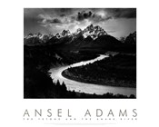 The Tetons and the Snake River (embossed)
