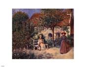 Garden Scene in Brittany, c. 1886