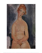 Seated Nude, ca. 1918