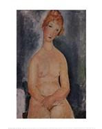 Seated Nude, ca. 1918