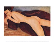 Reclining Nude from the Back, c.1917