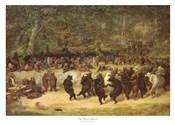 The Bear Dance, c.1870