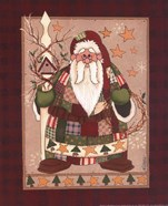 Patchwork Santa