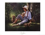Donna Green - Jordy and the Pups Size 22x28