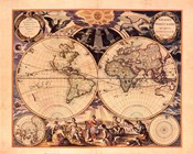 New World Map, 1676