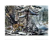 Currier and Ives - American Winter Sports Size 23x16