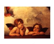 The Cherubim Putti Angels of The Sistine Madonna, c.1514