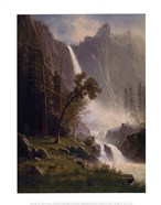 Bridal Veil Falls, Yosemite, ca 1871-73