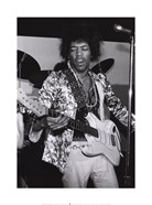 Jimi Hendrix, 5th Dimension Club, Ann Arbor, Michigan, 1967