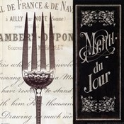 French Menu II