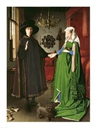 The Portrait of Giovanni Arnolfini and his Wife Giovanna Cenami