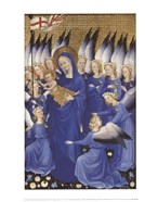 The Wilton Diptych: Virgin and Child (right panel)