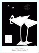 Black and White Martini II