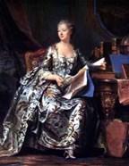 Madame Pompadour 1755