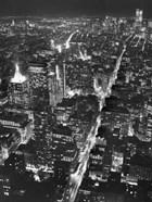 Night View of Lower Manhattan