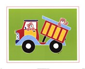 Bears in Dump Truck