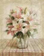 Cottage Lilies in Pink