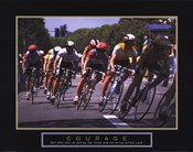 Courage - Making A Turn Bicycle Race