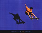 There Are No Limits - Skateboarder