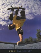 Reach For The Sky - Skateboarder