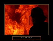 Courage - Fireman With Axe