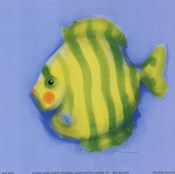 Green Striped Fish