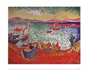 Boats in the Port of Collioure, 1905