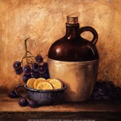 Jug with Grapes and Lemons