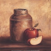 Crock With Apples