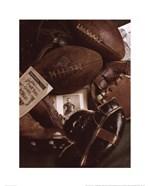 Vintage Football (Sepia)