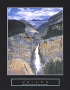 Values - Takakkaw Falls