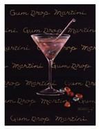 Gum Drop Martini