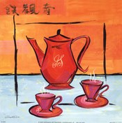 Asian Tea Set I