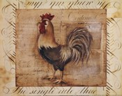 Rustic Farmhouse Rooster II - Mini