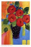 Spring Blooms In Blue Vase II