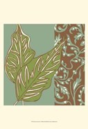 Nouveau Leaves I
