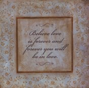 Believe Love Is Forever
