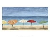 Ocean Umbrellas I