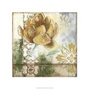 Globeflower Fresco I