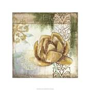 Globeflower Fresco II