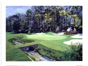 The 13th At Augusta-Azalea