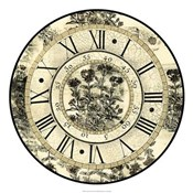 Antique Floral Clock